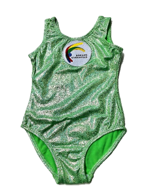 Fairy Dust Leotard (Frosted Lime)
