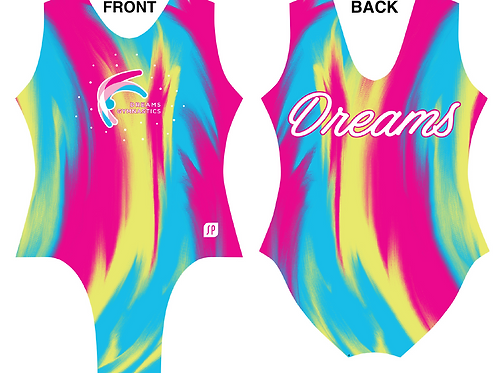 Rainbow Swirl Leotard