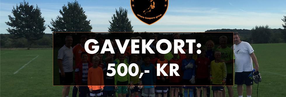 GAVEKORT: KR. 500 TIL KD&C WEBSHOP