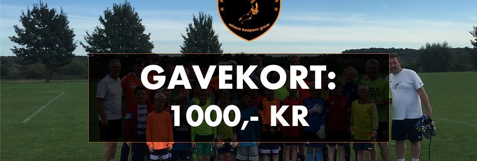 GAVEKORT: KR. 1000 TIL KD&C WEBSHOP