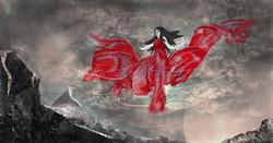 Red Lady illustration