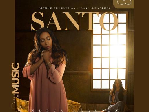 """""""santo"""" de Dianne de jesus en nueva version con isabelle valdez.-"""