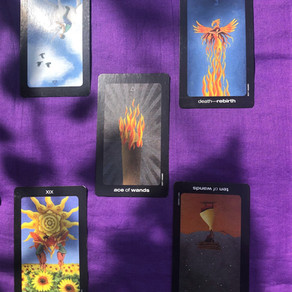 New beginnings, transformation, release: tarot reading 10-16th August