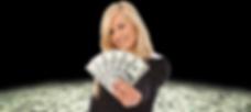 Women winning money