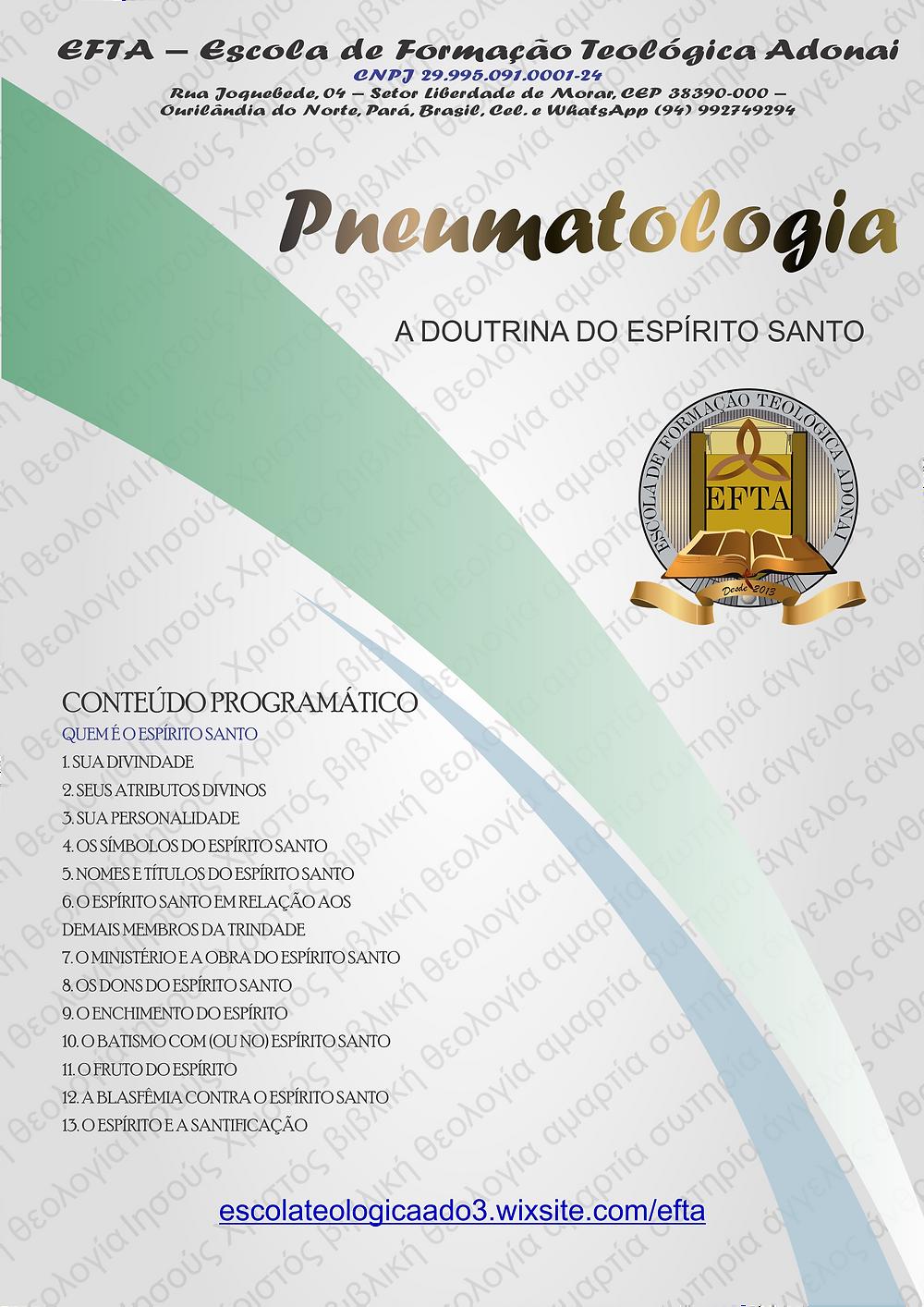Curso Pneumatologia