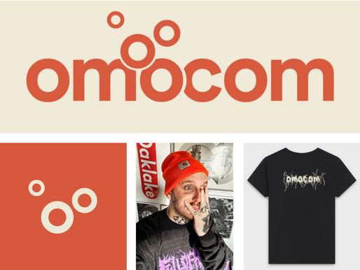 Omocom Glow-up! Ny branding och grafisk profil