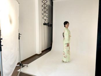 訪問着・先生袴の撮影をしました!