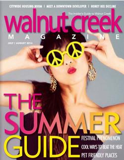 Walnut Creek Magazine, July/Aug 2014
