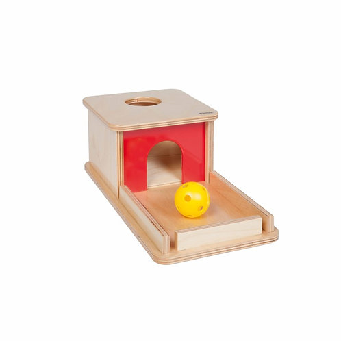Imbucare Box With Knit Ball תיבת השחלה ומגש