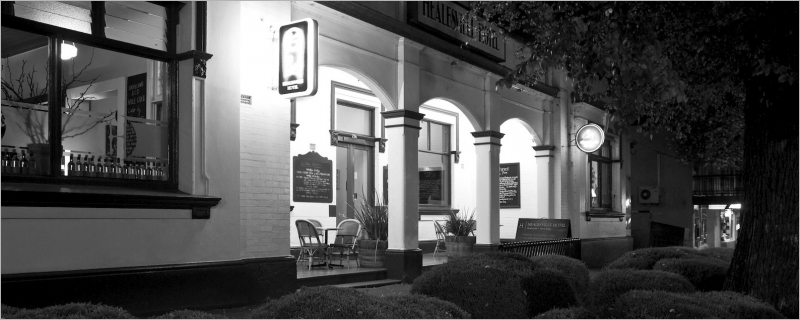 The iconic Healesville Hotel