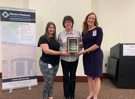 Council on Aging Honored for Pen Pal Program