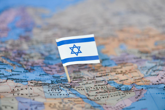 Map with flag of Israel.jpg