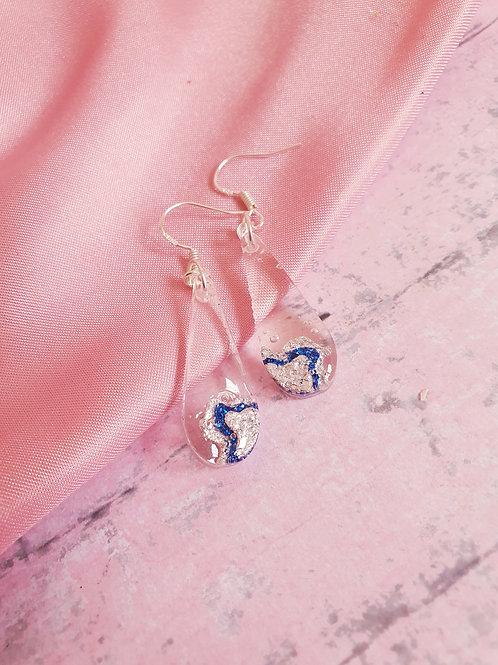 925 Sterling Silver Cascade Earrings