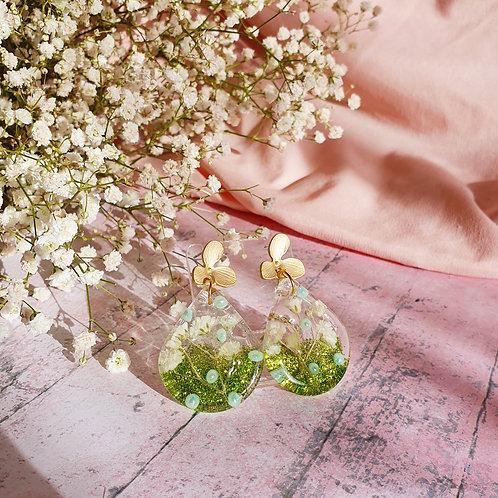 Spring Flower Dangle Earrings