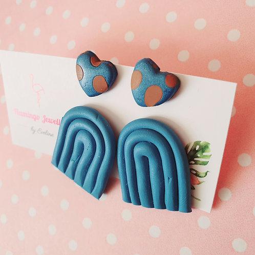 The Blue set - 2 pairs