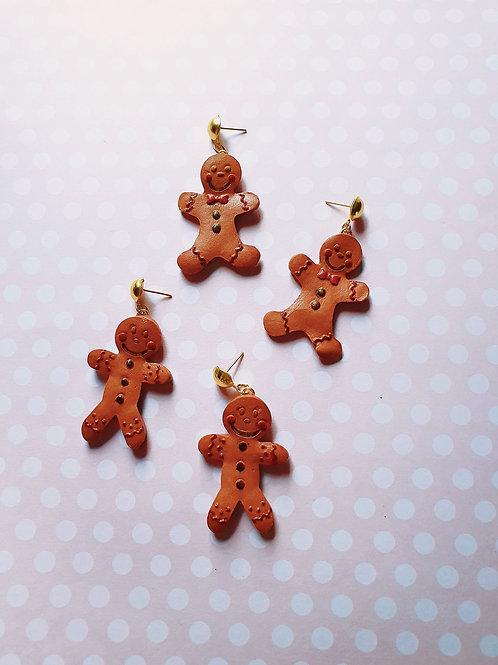 The Gingerbreadman dangles
