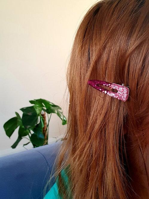 Flamingo Signature Hair Clip