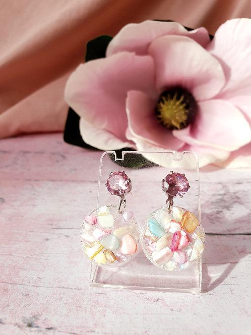 Sparkly little stones earrings