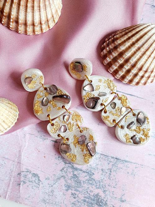 Rustic Seaside themed Signature dangle earrings