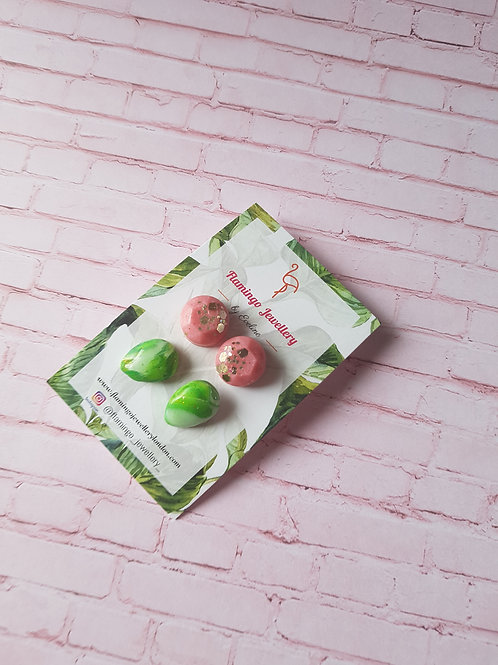 Green and Pink Moment Set