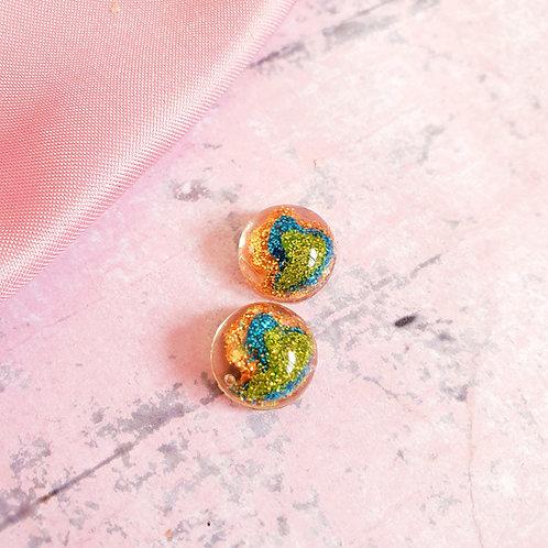 Cascade tiny earrings - hypoallergenic
