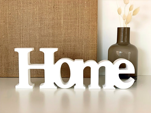 Objeto decorativo HOME