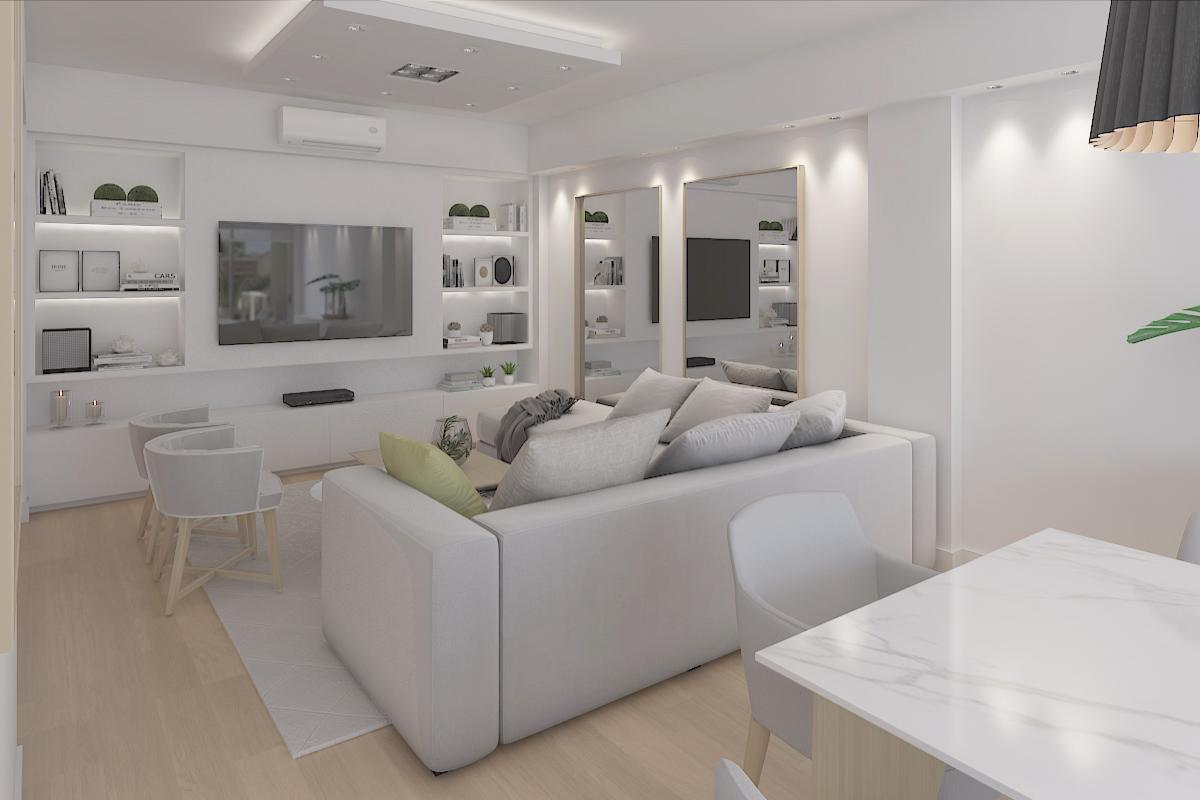 Living mueble aparador espacio guard