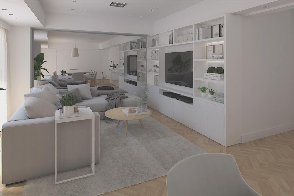 Living optimizado lugares diseño