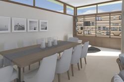 Mesa del comedor moderna diseño