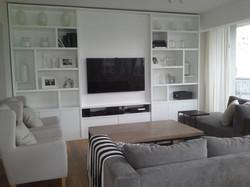 Mueble con módulos