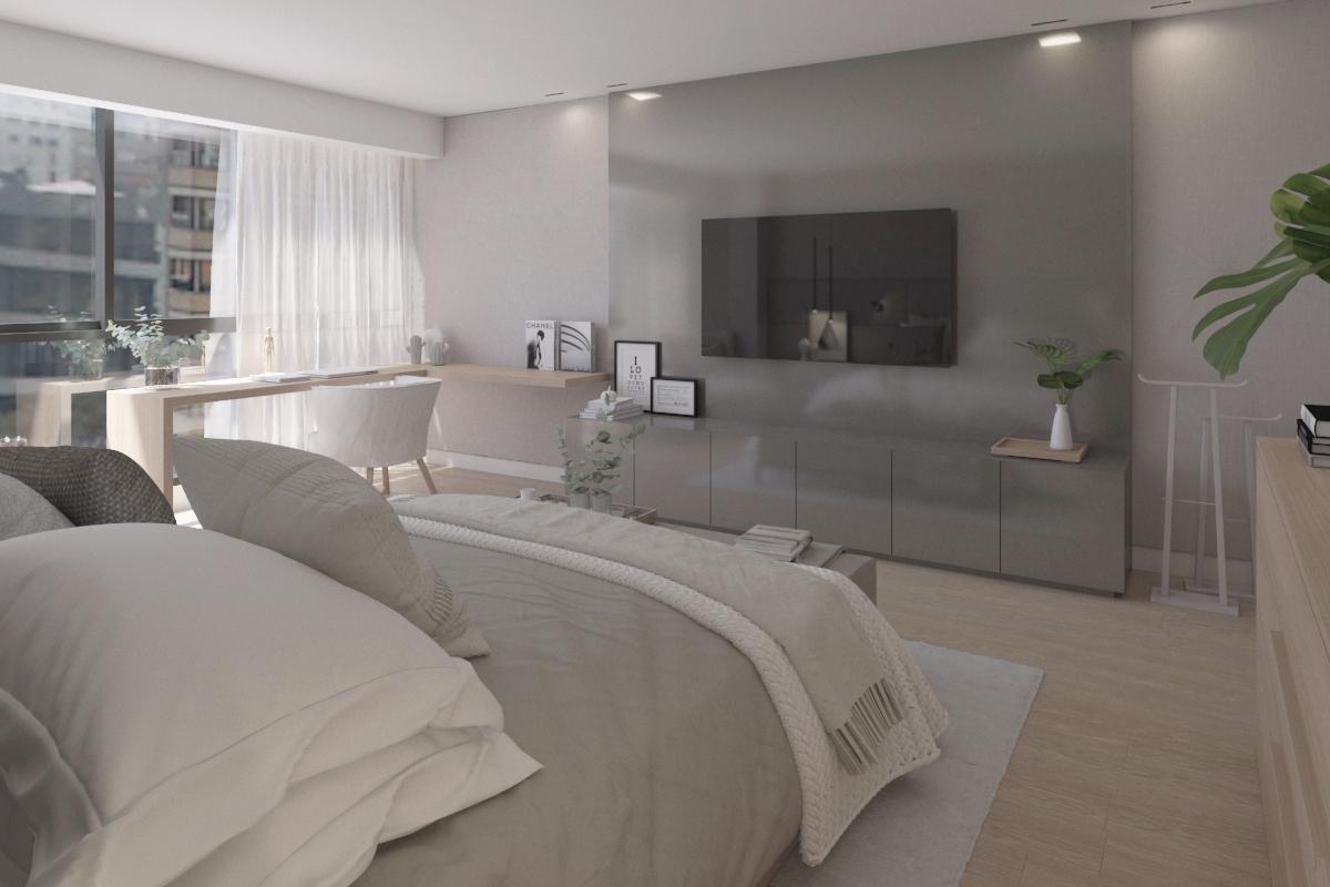 Dormitorio principal con estilo