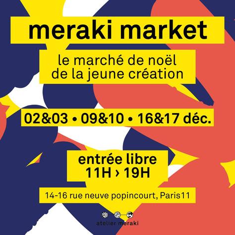 Un rendez-vous de Noël au Meraki Market