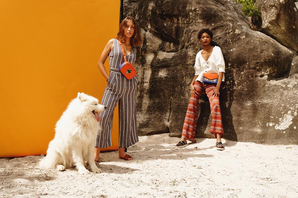 Lola Bouchareb & Nina Belo par DeMarcus Allen