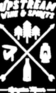 upstream wine and spirits logo