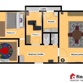PRODÁNO - Prodej bytu 4+1 86,87m2, Kladno
