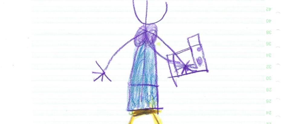 Fotografenportrait aus Kinderhand