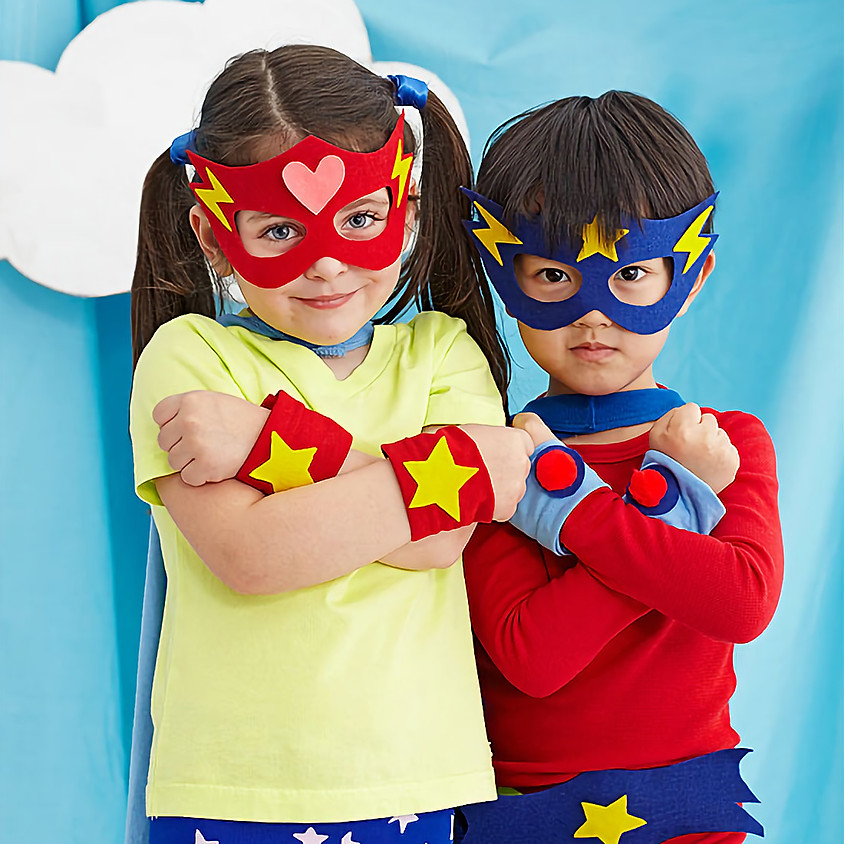 Mother / Super hero Dance & crafting event