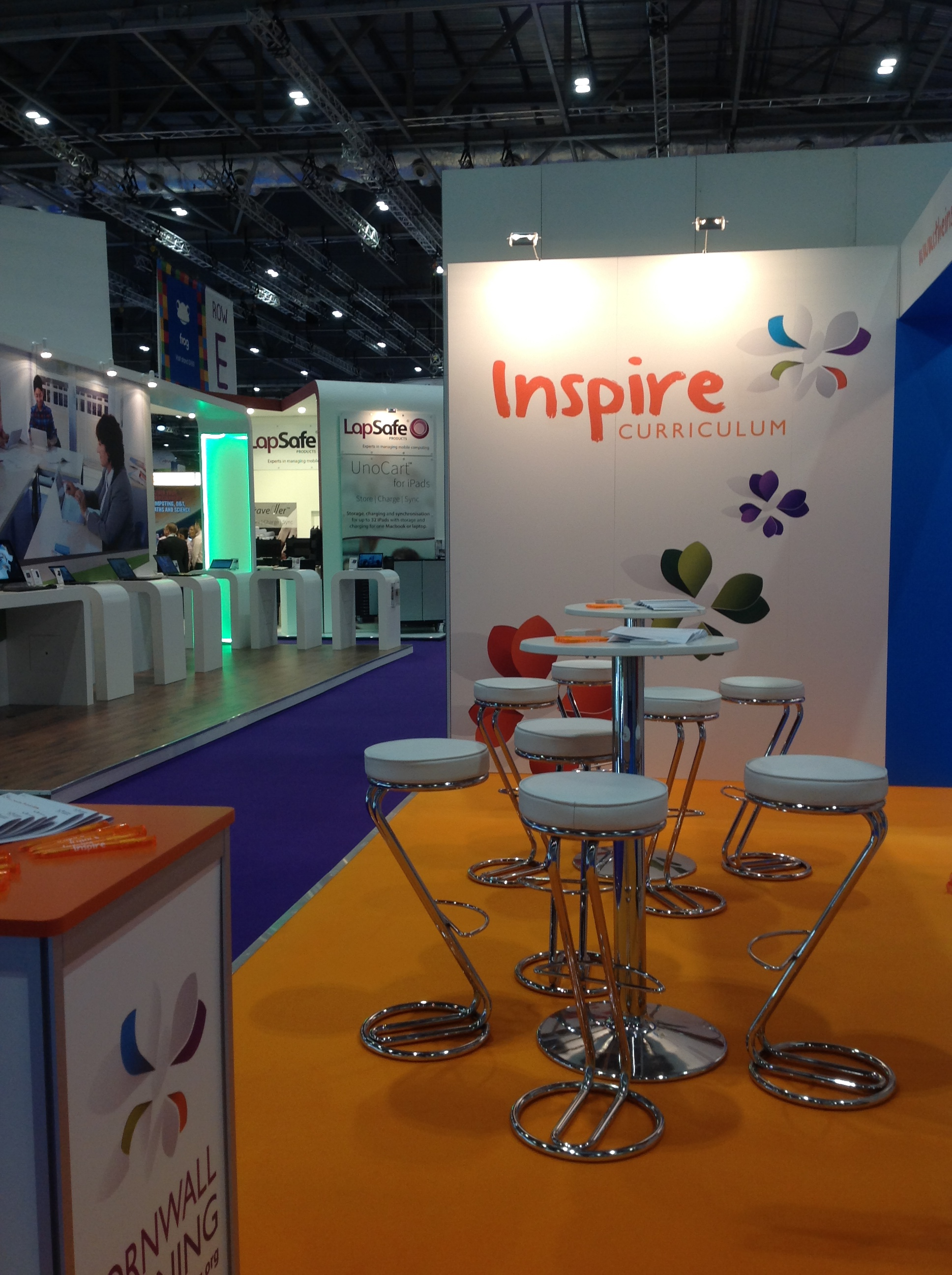 Our Inspire stand