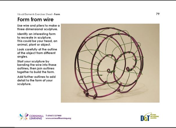 form from wire