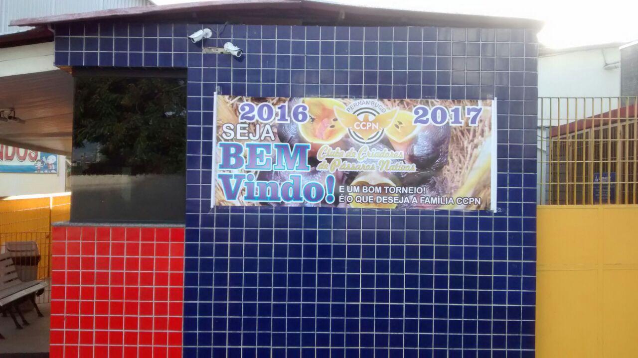 1° ETAPA 2016 - CANÁRIO DA TERRA