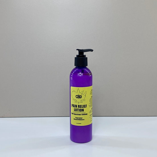 CBD Infused Lotion 1500mg