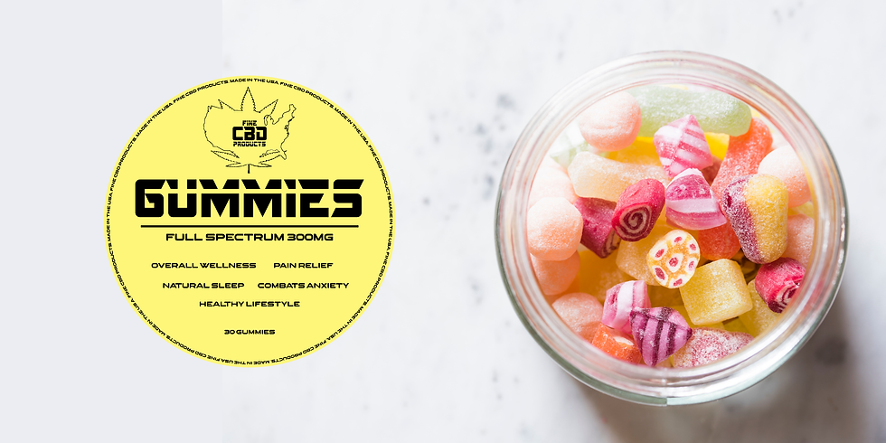 Full Spectrum CBD Gummies 300mg 30ct
