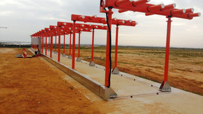 Novo ILS / DME do Aeroporto de Faro instalado recentemente