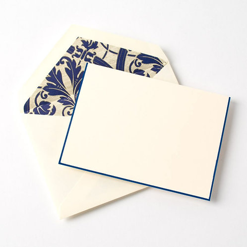 Regent Blue Bordered Regency by Crane & Co.