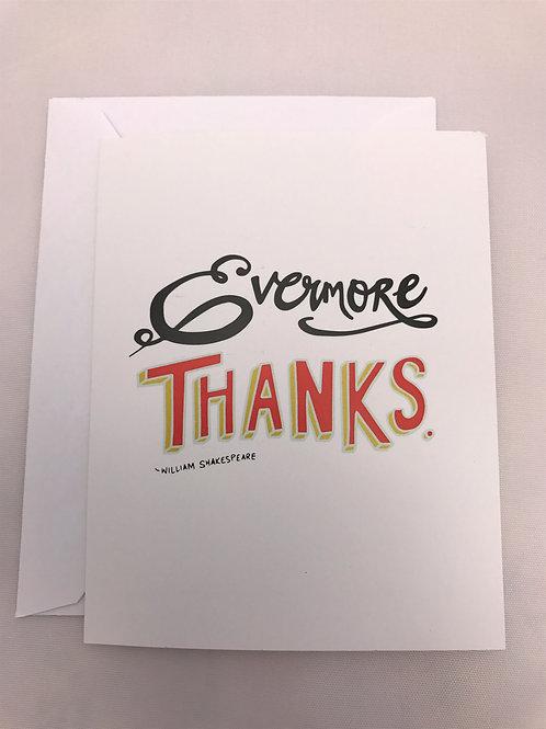 Evermore Thanks