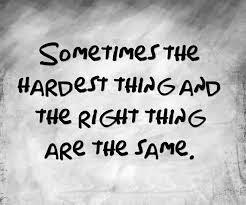 Blog #11 - How to make tough decisions.