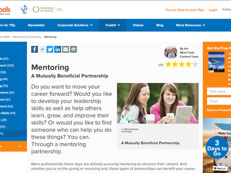 Useful Article: Mentoring - a mutually beneficial partnership