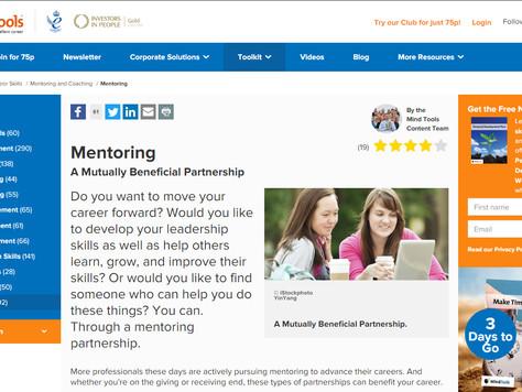 Useful Article: Mentoring - a mutually beneficial partnership