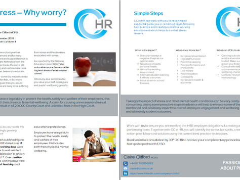 Factsheet: Stress - Why worry?