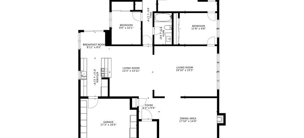Floor Plan with dimentions